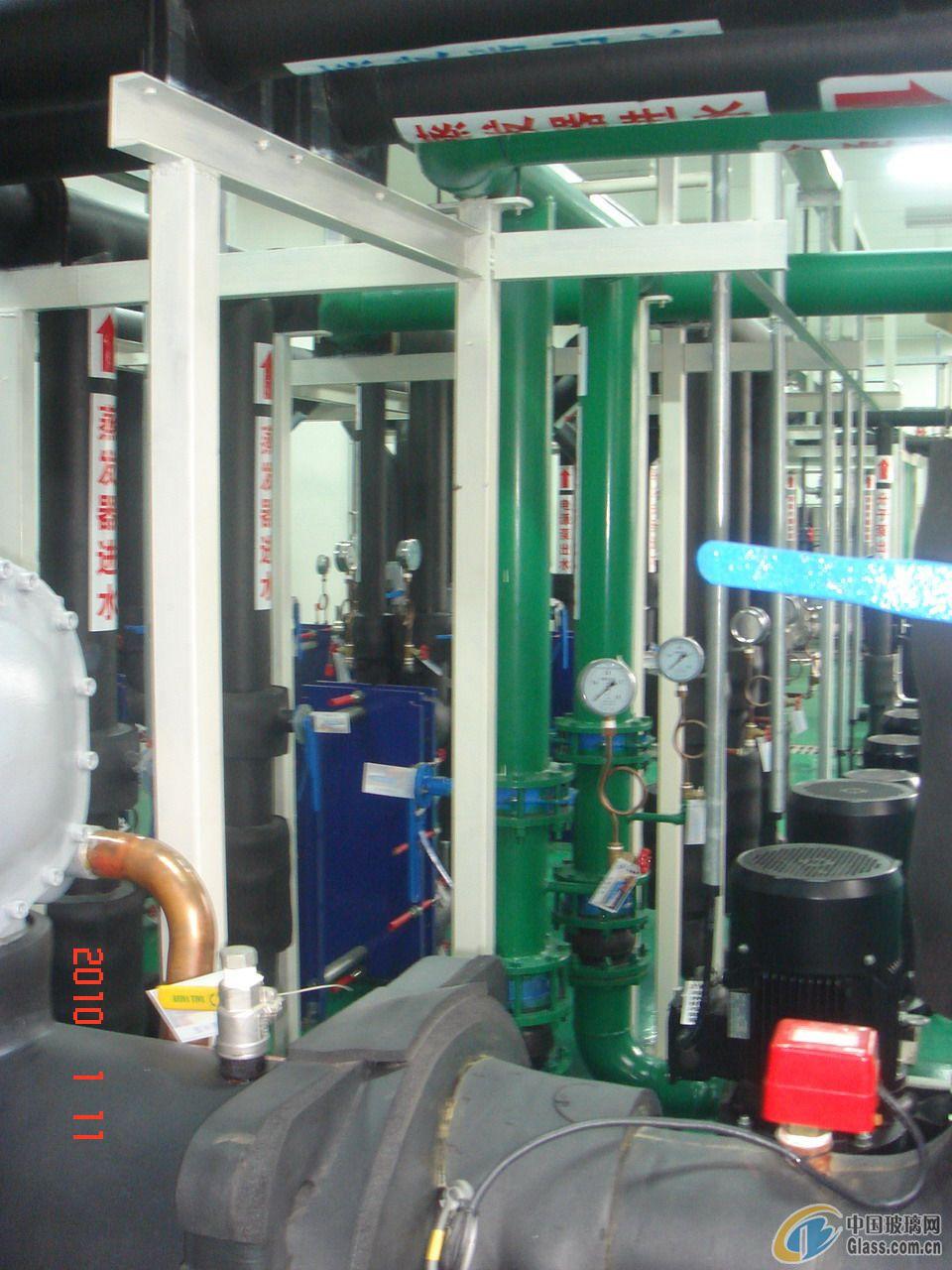 供应镀膜玻璃生产线工业冷却水系统成套设备