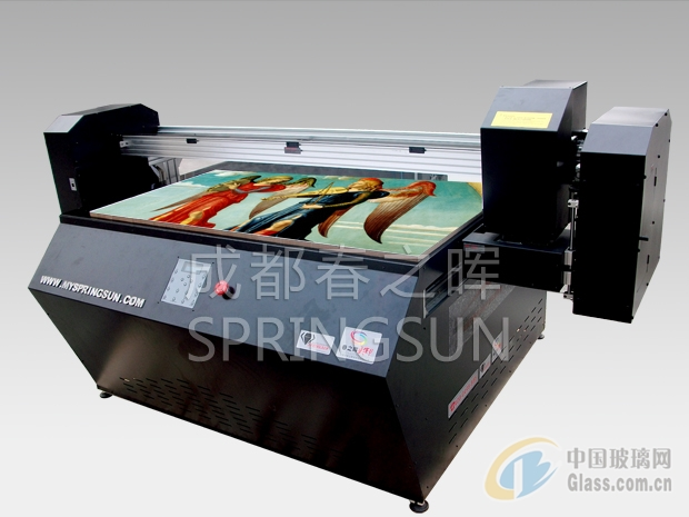 成都重庆甘肃宁夏大幅面玻璃高速多功能平板打印机