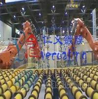 双机器人并联生产线
