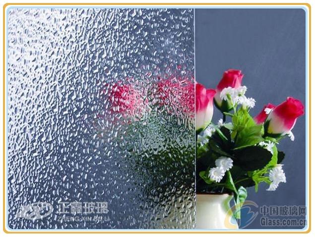 5mm压花玻璃