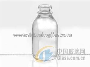 钠钙玻璃输液瓶100mlC