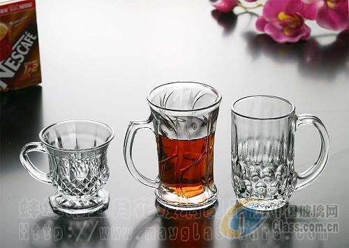 玻璃杯  咖啡杯 把柄杯