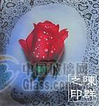 艺术玻璃茶几数码印刷机UV印刷
