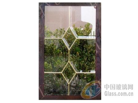 厨柜用铜条镶嵌艺术玻璃
