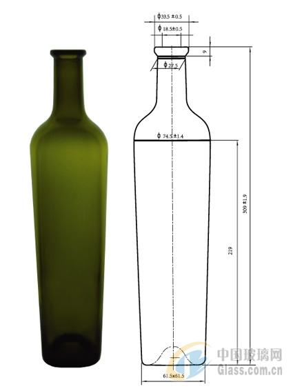 红酒瓶 500ml