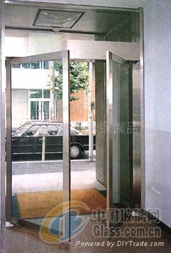 西安定做无框玻璃门全包玻璃门