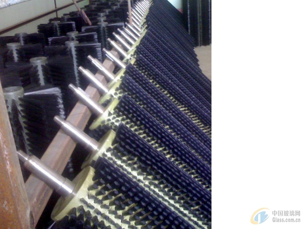 黑尼龙丝毛刷辊工业毛刷辊