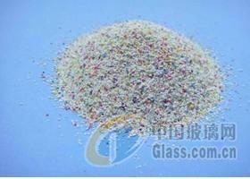 树脂砂玻璃表面喷砂