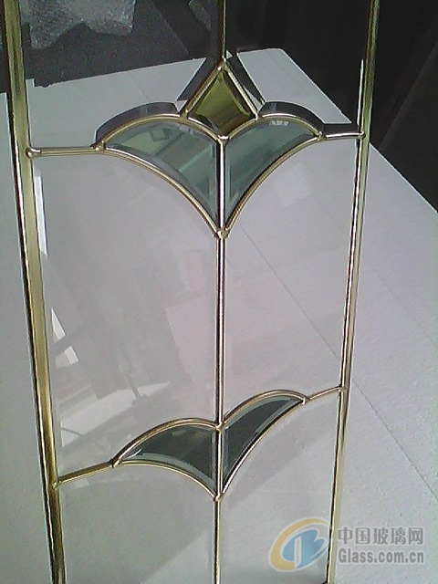 晶钦铜条玻璃,橱柜铜条玻璃