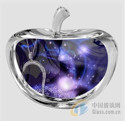 水晶影像耗材苹果摆件成批出售