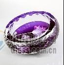天天精品水晶影像烟灰缸水晶器皿