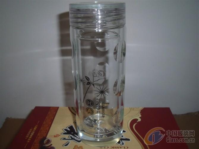 双层玻璃杯男女士茶杯