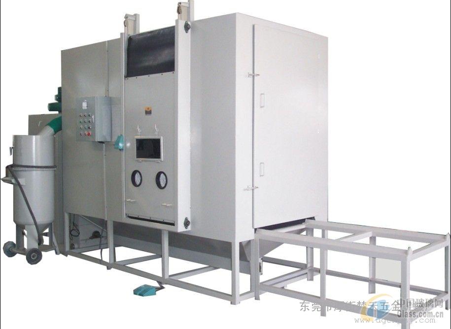 珠海压力密闭式自动回收喷砂机