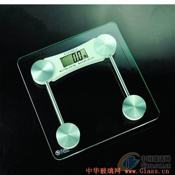钢化玻璃人体称