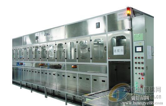 八槽式光学镜片超声清洗机