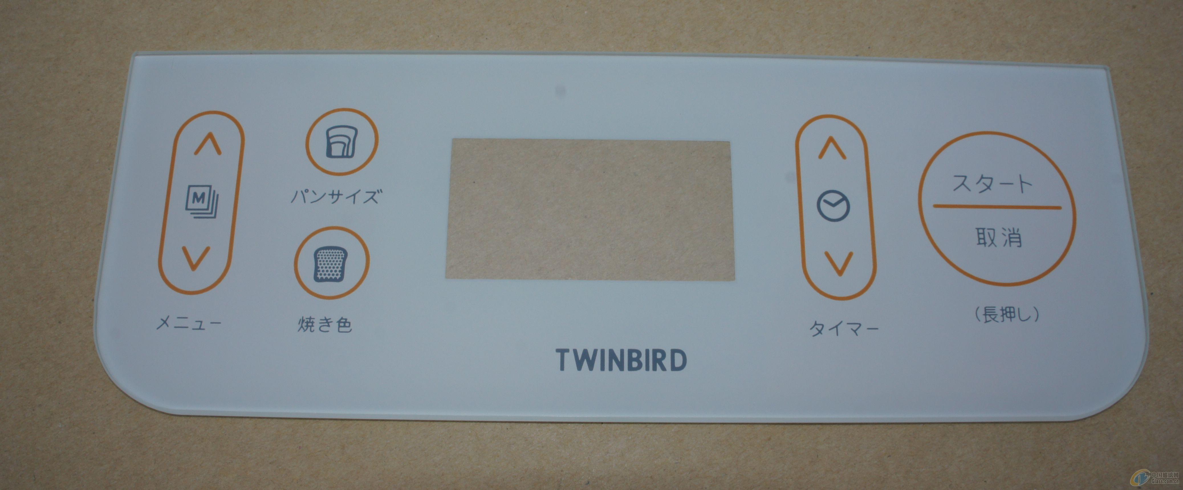 供应日文面包机钢化玻璃面板