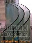 弯钢low-e中空玻璃