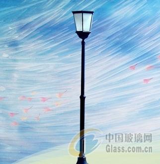 灯具玻璃 钢化丝印玻璃价格