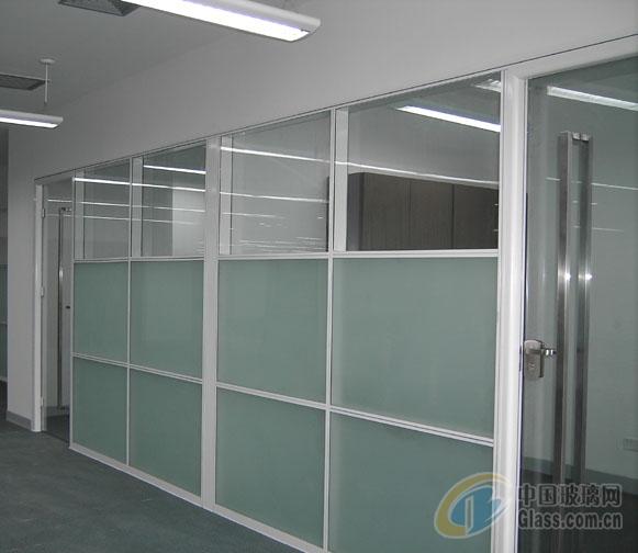 贵阳铝合金玻璃隔断.较新的隔断