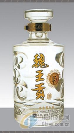 玻璃酒瓶,白酒瓶,手工酒瓶