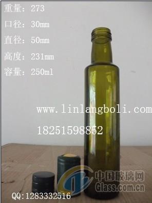 250ml棕色葡萄酒瓶