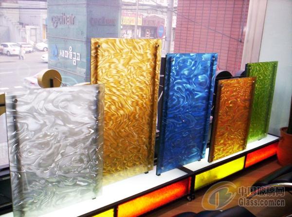 幻彩玻璃 夹丝玻璃 艺术玻璃