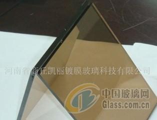 高透茶色镀膜玻璃