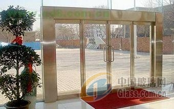 西安建筑钢化玻璃门自动门维修