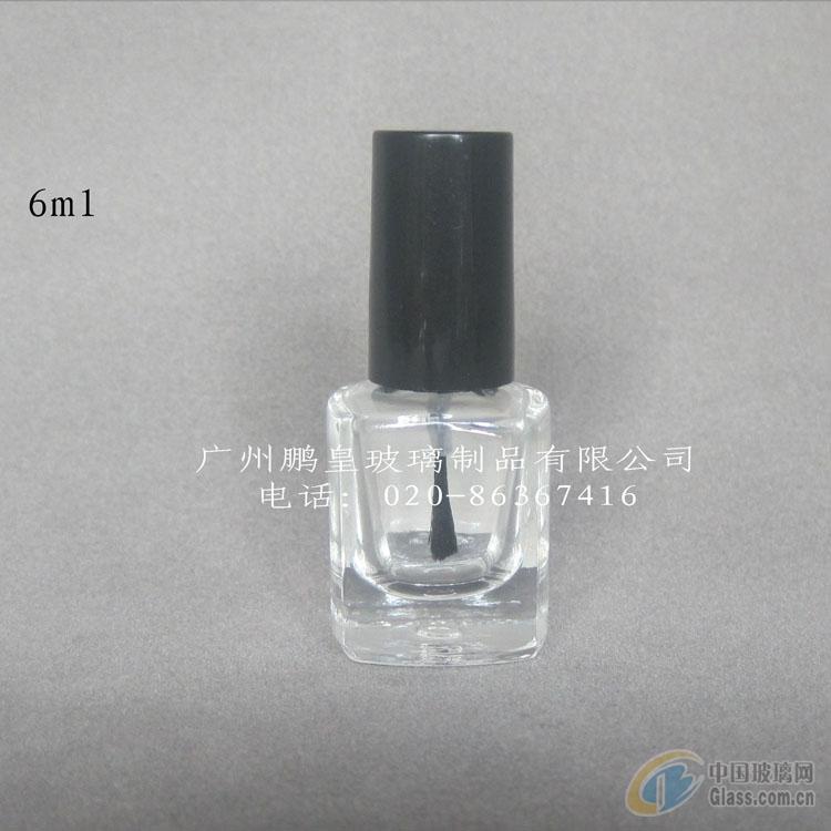 供应方形玻璃指甲油瓶