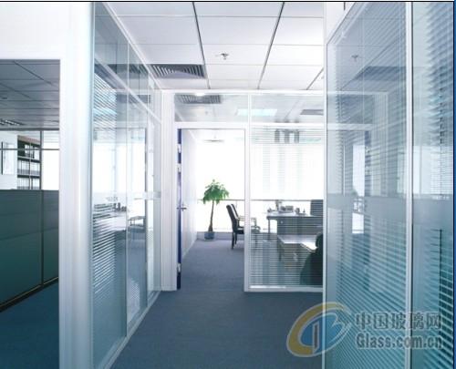 扬州办公室玻璃隔断/百叶隔断价格