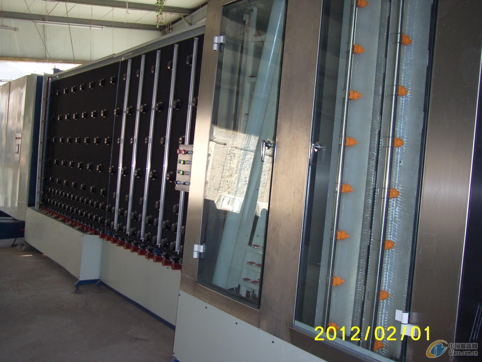 ZK1800中空玻璃生产线