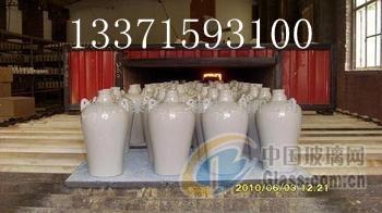 供应玻璃罐 酒坛子 蜡烛罐辊道窑炉