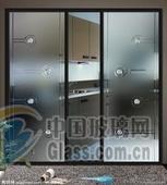 安装玻璃门宣武门定做磨砂玻璃门