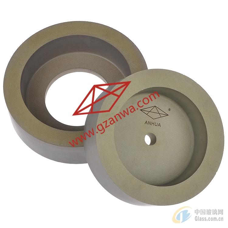 玻璃磨边杯形石头轮  倒安全角磨轮