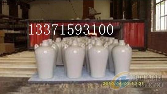 供应酒瓶烤花辊道窑炉