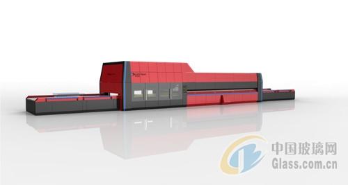 6-纵弯型玻璃钢化生产线\平弯钢化炉