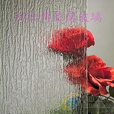 压花玻璃-雨花