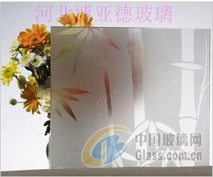 装饰玻璃-竖竹