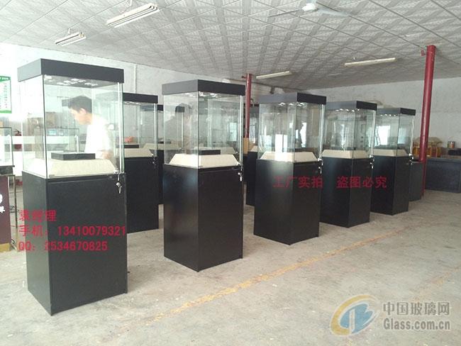 强化玻璃瓷器展柜单独方柜定制厂