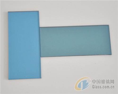 福特蓝镀膜玻璃\有色镀膜玻璃