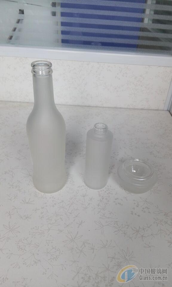 玻璃瓶蒙砂工艺-广州特美