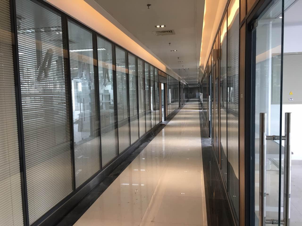 镇江办公室隔断,铝合金玻璃隔断