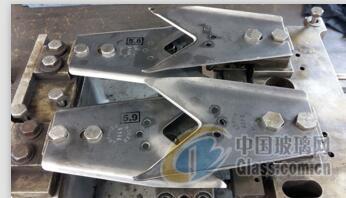 75度焊接玻璃剪刀片 材质全钢