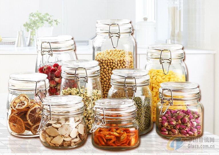 厂家供应储物罐 酱菜瓶 玻璃瓶