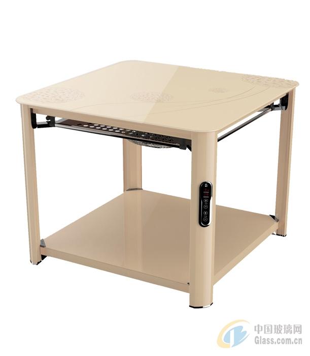 湖南瑞奇玻璃取暖桌L3-580