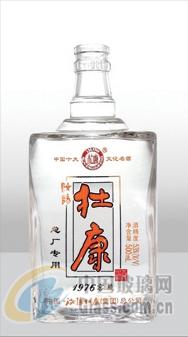 厂家直销   高等晶白透明玻璃瓶- �{白透明玻璃瓶