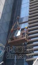 办公楼玻璃更换外墙更换幕墙钢化玻璃中空玻璃