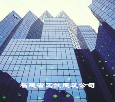 莆田外墙玻璃安装 玻璃幕墙工程 中空玻璃