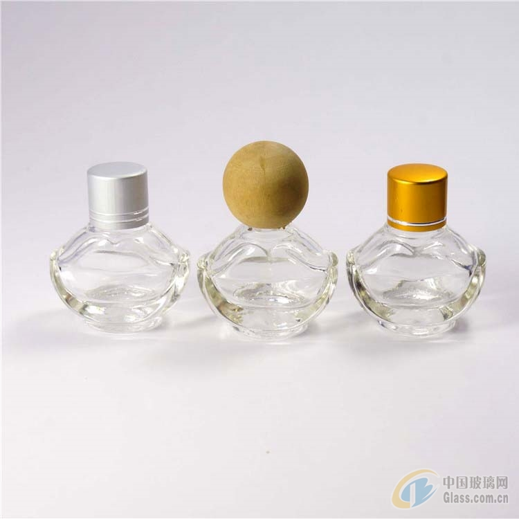 批发元宝玻璃瓶吊饰香水瓶