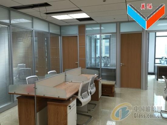 深圳办公室铝合金玻璃隔断厂家